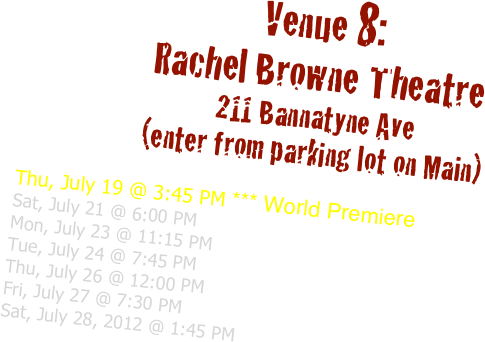Venue 8: 